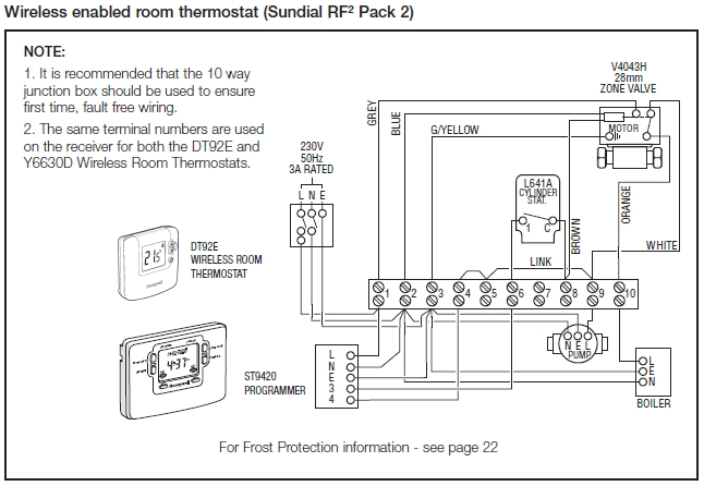 Drayton Central Heating Programmer Wiring Diagram : C plan wiring diagram fuse box and