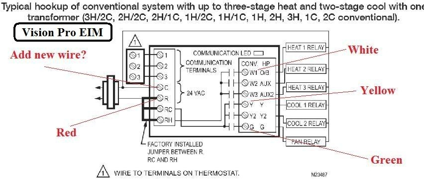 Honeywell Thermostat Wiring Diagrams Honeywell Thermostat Wiring within Honeywell Heat Pump Thermostat Wiring Diagram