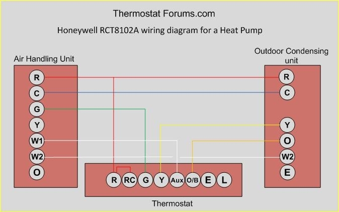 Honeywell Wifi Thermostat Wiring Diagram Stunning Honeywell regarding Honeywell Wifi Thermostat Wiring Diagram