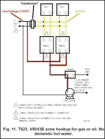 Honeywell Zone Valve Wiring Diagram with Honeywell Zone Valve Wiring Diagram