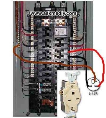 how to install a 220 volt outlet askmediy inside 4 wire 120 volt fuse box 220 volt fuse box
