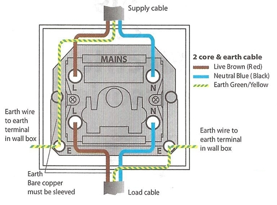 How To Install A Double Pole Switch regarding Double Pole Switch Wiring Diagram