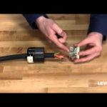 How To Install A Leviton Industrial Locking Wiring Device - Youtube regarding 30 Amp Twist Lock Plug Wiring Diagram