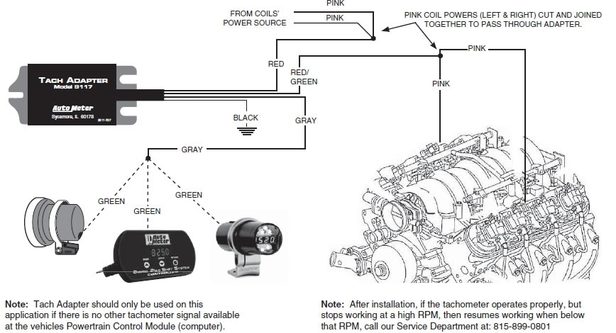 Wiring Diagram Rpm Gauge : Autometer tach wiring diagram fuse box and