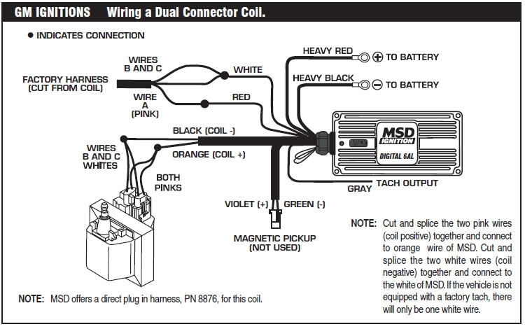 How To Install An Msd 6A Digital Ignition Module On Your 1979-1995 regarding Msd 6A Wiring Diagram