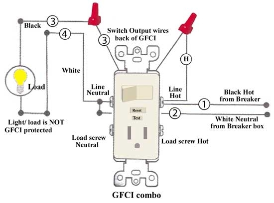 leviton outlet wiring diagram