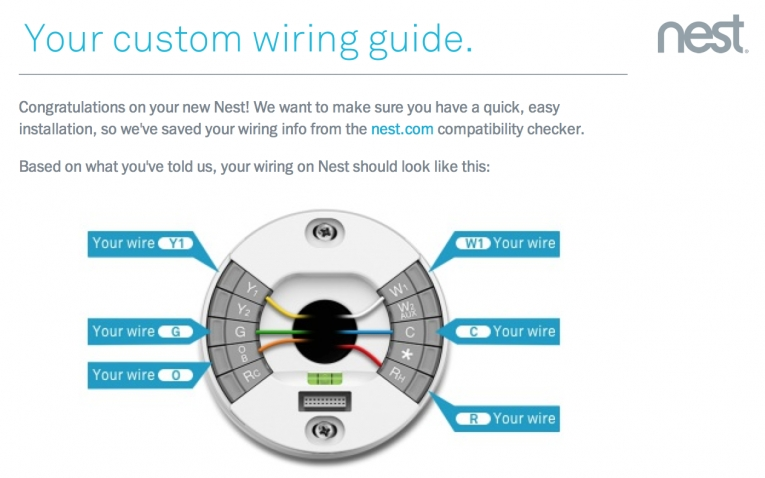 How To Install Your Nest Learning Thermostat – Readingrat for Nest Thermostat Wiring Diagram