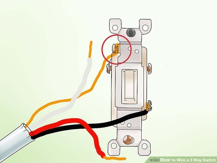 How To Wire A 3 Way Switch (With Pictures) - Wikihow pertaining to How To Wire A 3 Way Switch Diagram