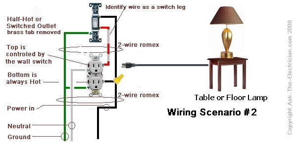 Wiring Diagram Switch Leg : V electrical switch light wiring diagrams fuse box