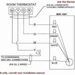 How To Wire A Thermostat for 2 Wire Thermostat Wiring Diagram Heat Only