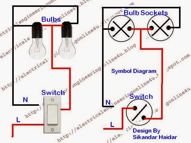 How To Wire Lights In Parallel With Switch with How To Wire Lights In Parallel With Switch Diagram