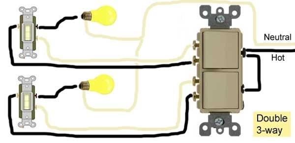 How To Wire Switches intended for Double Pole Switch Wiring Diagram