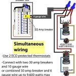 How To Wire Water Heater Thermostat with regard to Electric Water Heater Wiring Diagram