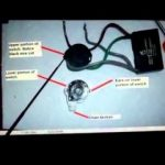 Hunter Ceiling Fan 4-Wire Switch Repair - Youtube regarding 3 Speed Ceiling Fan Switch Wiring Diagram