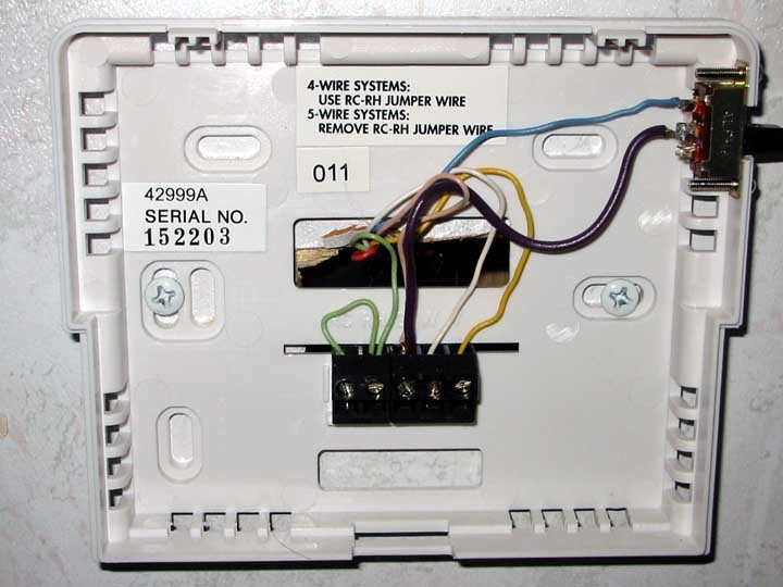 Hunter thermostat in dometic wiring diagram