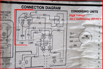 Hvac - How To Replace The Run Capacitor In The Compressor Unit with Hard Start Capacitor Wiring Diagram