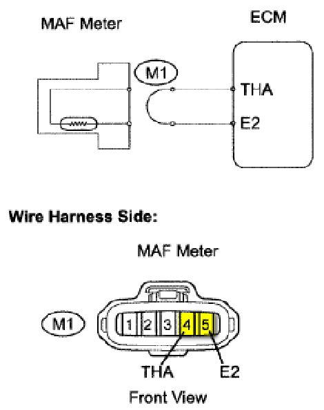 Iat Sensor Performance Chip Installation Procedure: 1992-2002 within Mass Air Flow Sensor Wiring Diagram