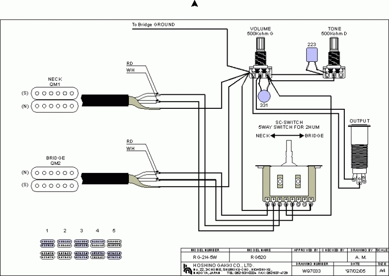 Ibanez Pickup Wiring - Facbooik pertaining to Dimarzio Wiring Diagram