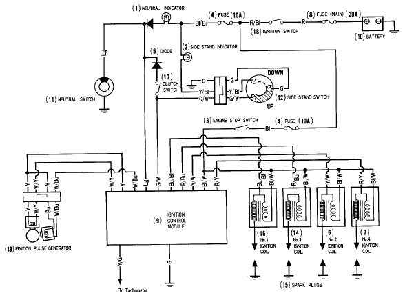 Ignition Wiring Diagram Coil Wiring Diagram Coil Wiring Diagrams pertaining to Ignition Wiring Diagram