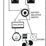 Installed Perko Switch With Single Engine/two Battery(Cranking with regard to Guest Battery Switch Wiring Diagram