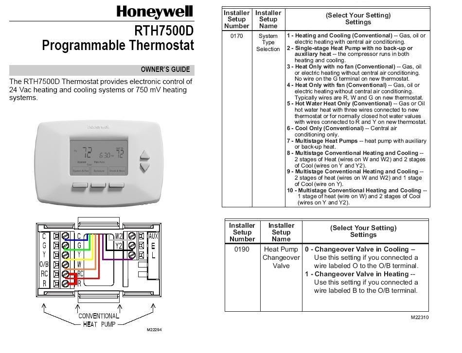 Installing honeywell rth7500d thermostat at heat pump wiring installing honeywell rth7500d thermostat at heat pump wiring regarding honeywell thermostat wiring diagram cheapraybanclubmaster Choice Image