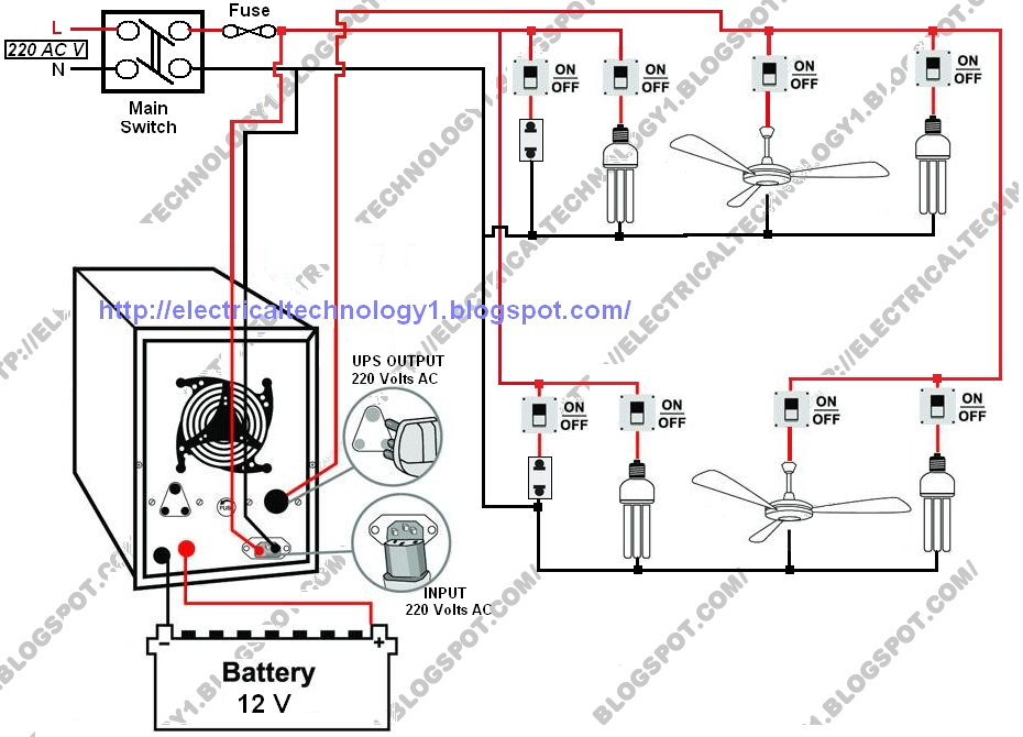 Inverter Home Wiring Diagram for Inverter Home Wiring Diagram