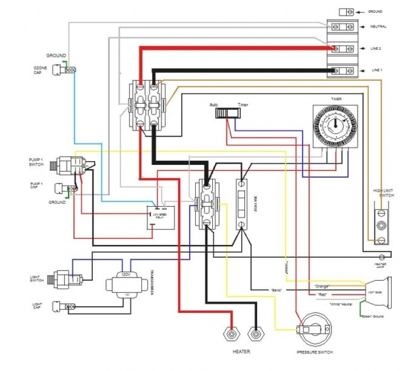 Jacuzzi Pump Wiring Diagram - Facbooik intended for Jacuzzi Wiring Diagram
