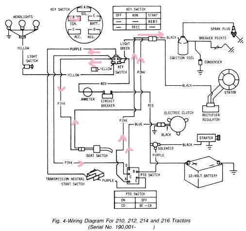 john deere 111 wiring diagram stx38 pto mp13152 un01jan94 gif with regard to john deere 2305 wiring diagram john deere 120 wiring harness john deere wiring diagram instructions John Deere 318 Parts Diagram at panicattacktreatment.co