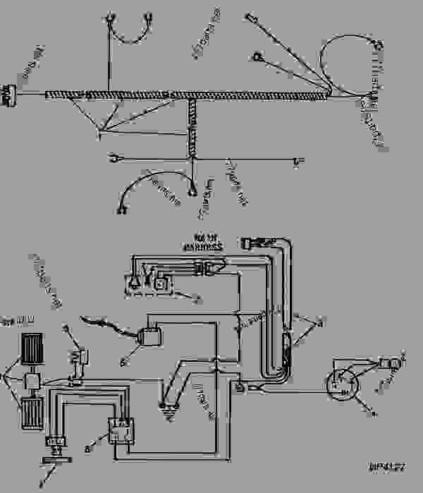 John Deere 40 Wiring Diagram within John Deere 40 Wiring Diagram