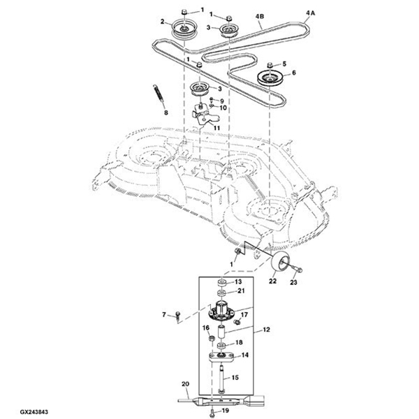 John Deere L130 Ignition Wiring Diagram John Deere F Wiring throughout John Deere 2305 Wiring Diagram