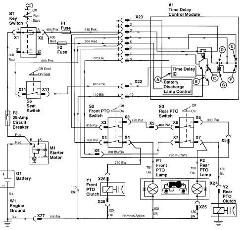 John Deere Wiring Diagram On And Fix It Here Is The Wiring For pertaining to John Deere Wiring Diagram