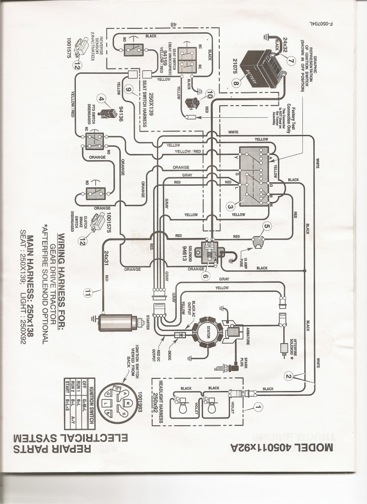 ER4k 16861 in addition Viewit furthermore John Deere 260 Lawn Tractor Wiring Diagram moreover John Deere La150 Drive Belt Diagram additionally John Deere Gator Transmission Parts Diagram. on john deere gator wiring schematic