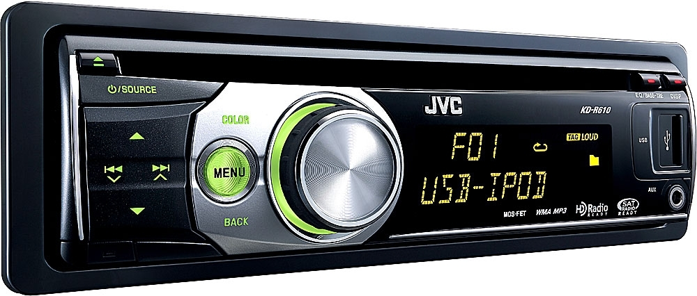 Jvc Kd-R610 Cd Receiver At Crutchfield within Jvc Kd R610 Wiring Diagram