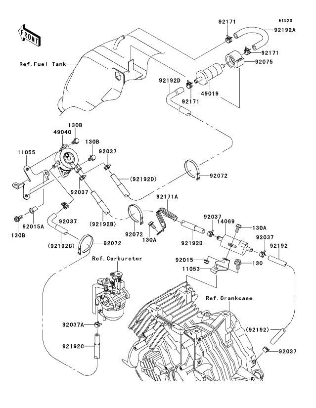 kawasaki mule wiring harness  kawasaki  wiring diagram for