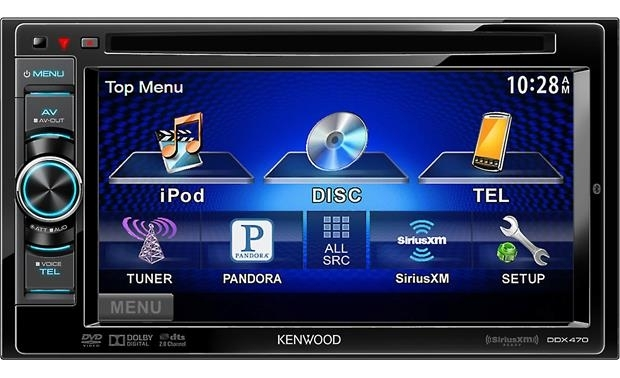 Kenwood Ddx470 Dvd Receiver At Crutchfield for Kenwood Ddx470 Wiring Diagram
