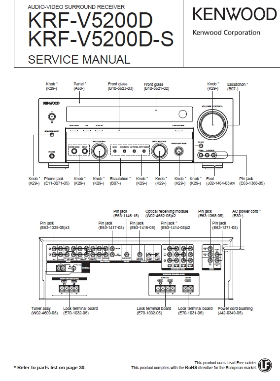 Wiring Diagram For Kenwood Kdc X590 : Kenwood kdc wiring diagram fuse box and