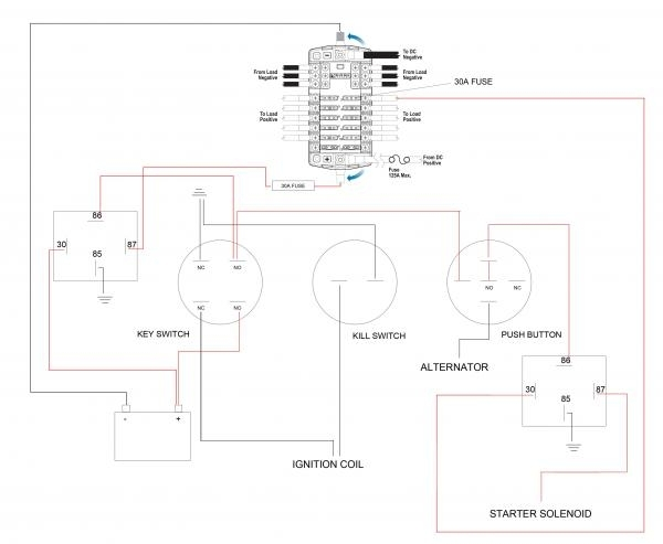 Kohler Engine Wiring Diagram on exmark electrical diagram