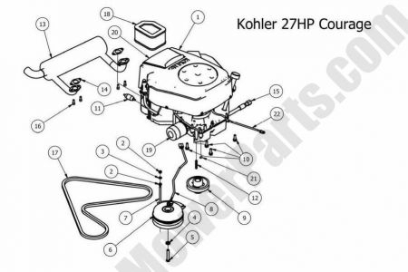 Kohler Command 27 Engine Diagrammand.auto Engine Wiring Diagrams pertaining to Kohler Engine Wiring Diagram