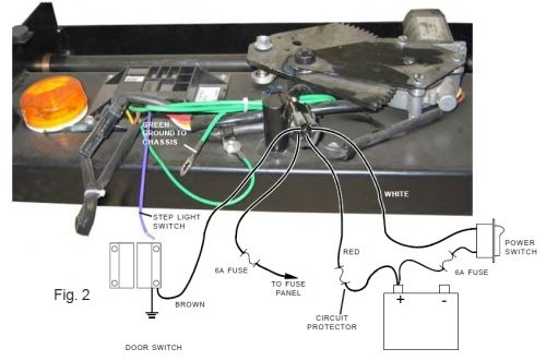 Kwikee Electric Step Wiring Diagram - Wiring Diagram intended for Kwikee Electric Step Wiring Diagram