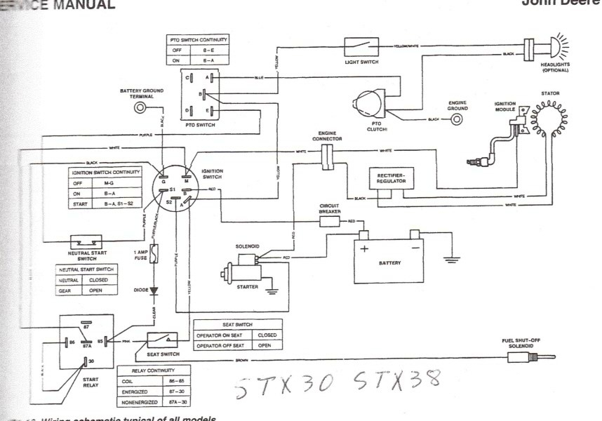 l130 wiring schematic john deere 1445 wiring diagram | fuse box and wiring diagram