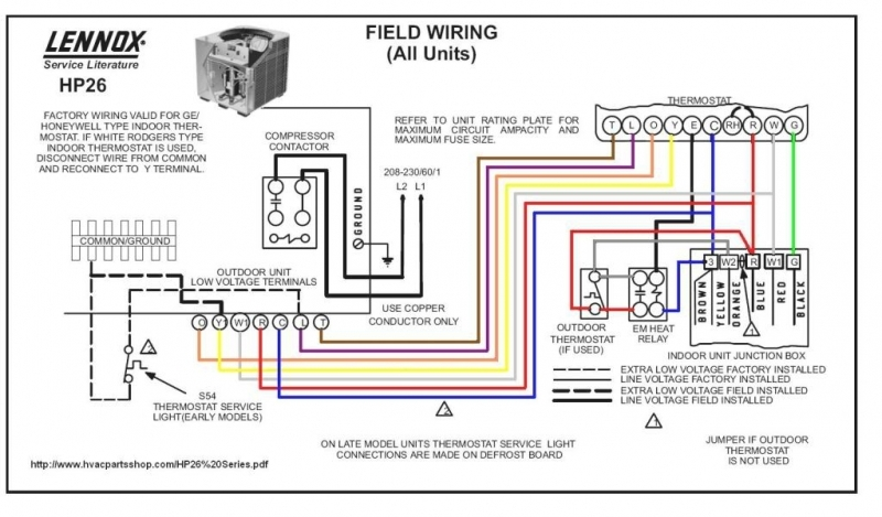 Hvac Thermostat Wiring Diagrams