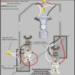 Light And Outlet 2-Way Switch Wiring Diagram | Electrical for 2 Way Switch Wiring Diagram