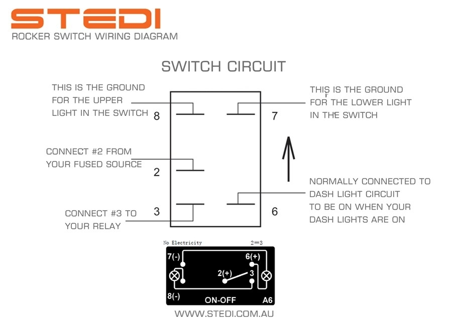Lighted Rocker Switch Wiring Diagram throughout Lighted Rocker Switch Wiring Diagram