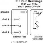 Lighted Toggle Switch Wiring Diagram pertaining to Lighted Toggle Switch Wiring Diagram