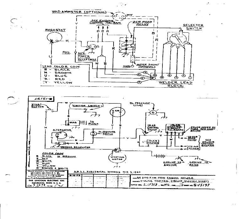 Lincoln Sa200 Wiring Diagrams | Lincoln Sa200 Wiring | Main for Mig Welder Wiring Diagram