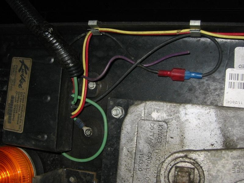 Loose Purple Wire On Power Step - Irv2 Forums throughout Kwikee Electric Step Wiring Diagram