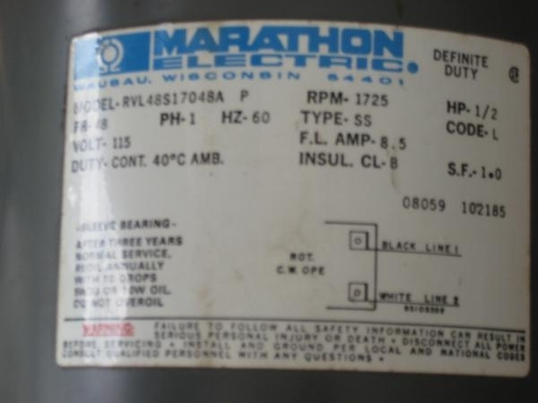 Marathon Electric Motors Wiring Diagram pertaining to Marathon Electric Motor Wiring Diagram