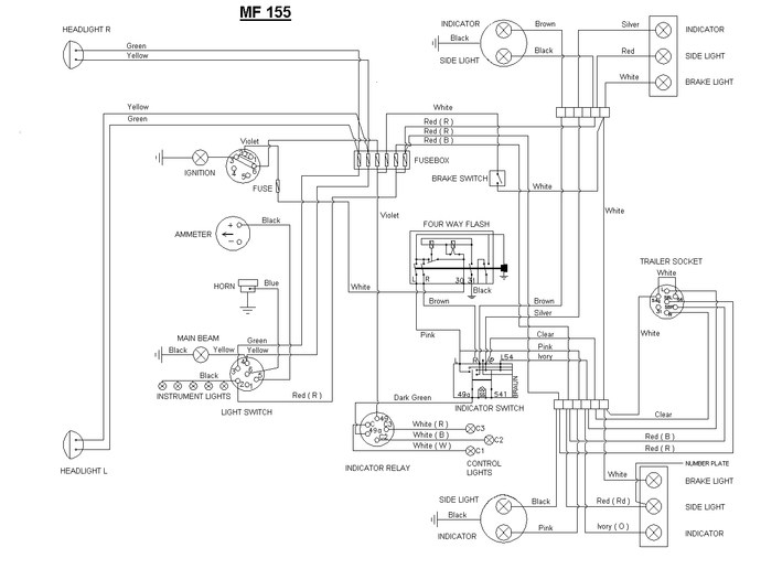 ferguson to30 wiring diagram