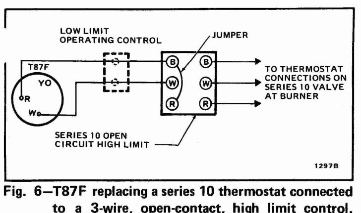 2 Wire Thermostat Wiring Diagram Heat Only Fuse Box And