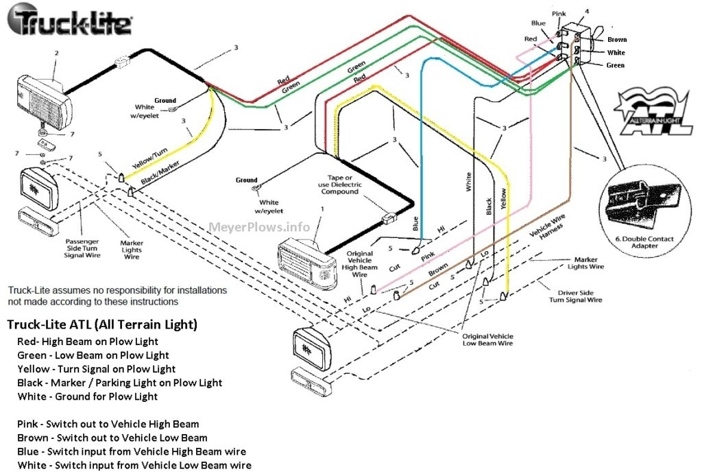 meyer plow wiring diagram